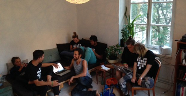 Bakom kulisserna på Dance For Love-kontoret i Stockholm